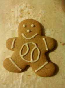 Homemade Gingerbread Man