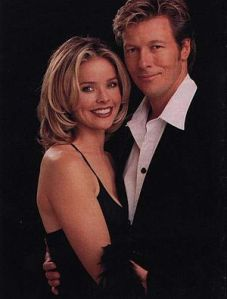 Kristina and Jack Wagner, Frisco and Felicia on General Hospital