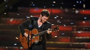 "Phillip Phillips, ""American Idol"" winner 2012"